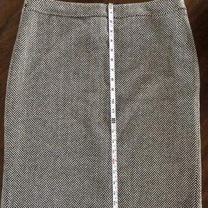 Jcrew #2 herringbone pencil skirt.